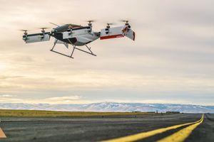 Hình ảnh 'đập cánh giữa không trung' của taxi bay Airbus lần đầu xuất hiện