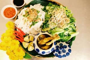 Mì Quảng ếch - Bếp Trang, thử một lần là nhớ