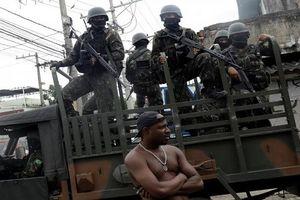 Quân đội Brazil trấn áp tội phạm ma túy ở Rio de Janeiro