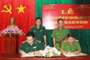 Phối hợp đấu tranh phòng chống ma túy khu vực biên giới biển Tiền Giang
