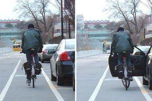Cách mở cửa ô tô an toàn không gây tai nạn cho người đi đường