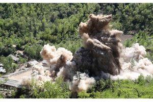 Cận cảnh Triều Tiên phá hủy khu thử hạt nhân Punggye-ri