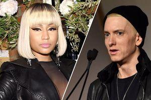 Nicki Minaj bất ngờ xác nhận hẹn hò rapper huyền thoại Eminem