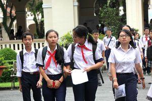 Công bố điểm thi tuyển sinh lớp 10 tại TP HCM: Thí sinh rớt học ở đâu?