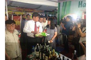 Vang Thăng Long, Gạo Đồng Tháp xuất hiện tại Hội chợ nông nghiệp Hà Nam