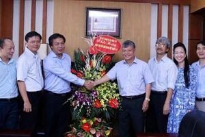 Lãnh đạo Bộ Kế hoạch và Đầu tư chúc mừng Báo Đầu tư nhân ngày Báo chí Cách mạng Việt Nam