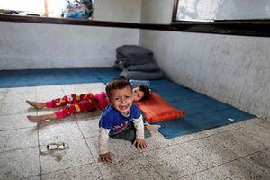 Nhói lòng cảnh chạy loạn của người dân Yemen vì bom đạn