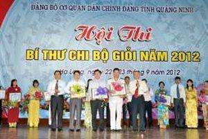 Giải pháp nâng cao chất lượng sinh hoạt chi bộ ở Quảng Ninh