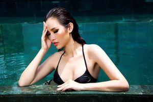 Á hậu Thanh Trang tung ảnh bikini, xác nhận thi Siêu mẫu Việt Nam 2018