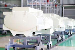 Trường Hải xuất khẩu bồn nhiên liệu 3.000 lít sang Hàn Quốc