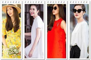 Mặc gì để đẹp và sang như Tăng Thanh Hà?