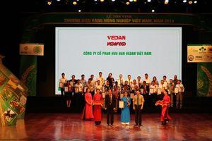 Vedan nhận giải thưởng Thương hiệu vàng nông nghiệp Việt Nam
