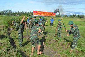 Tuổi trẻ BĐBP Bình Định sôi nổi hoạt động tình nguyện hè