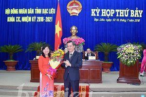 Bà Lâm Thị Sang được bầu làm Phó Chủ tịch UBND tỉnh Bạc Liêu