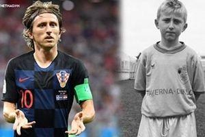 Thủa ấu thơ giữa những bầy sói của người đội trưởng Luka Modric