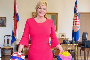 Học nữ Tổng thống Croatia cách diện trang phục đơn giản mà nổi bật
