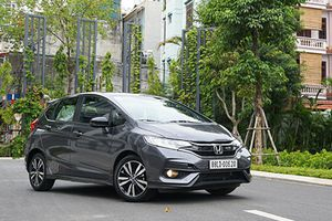 Honda Jazz giá từ 544 triệu đồng tại VN có gì 'hot'?