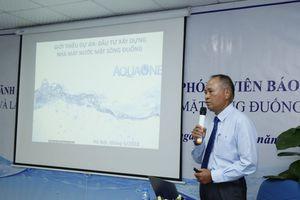 Nhà máy nước mặt sông Đuống sẽ đi vào hoạt động giai đoạn 1