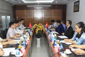 Hội Luật gia Việt Nam làm việc với Hội Luật học tỉnh Sơn Đông