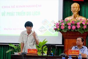 Ông Nguyễn Sự về Đồng Tháp bày cách làm du lịch