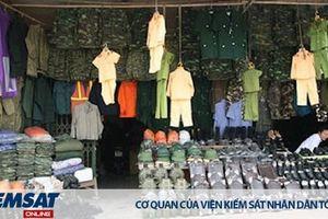 Cấm mua bán, trao đổi, cho, tặng quân trang, quân dụng ngành Công an
