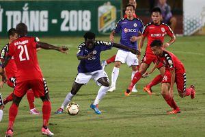 Bán kết Cúp quốc gia 2018: Hà Nội suýt thua trên sân nhà, SLNA thắng kịch tính