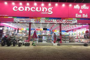 Nhiều cửa hàng thuộc hệ thống Con Cưng không xuất trình được hóa đơn chứng từ