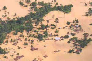 Đã giải cứu 26 công nhân Việt Nam khỏi vùng cô lập do vỡ đập thủy điện Lào