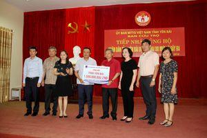 PVN chung tay cứu trợ đồng bào bị lũ lụt tỉnh Yên Bái