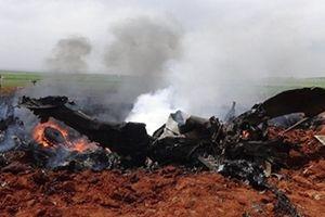 IS công bố video xác cường kích Su-22 Syria bị Israel bắn rơi