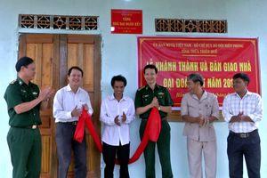 BĐBP Thừa Thiên Huế trao tặng nhà Đại đoàn kết cho hộ nghèo