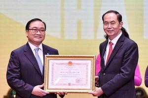 Hà Nội nhận Huân chương Độc lập hạng Nhất sau 10 năm mở rộng địa giới