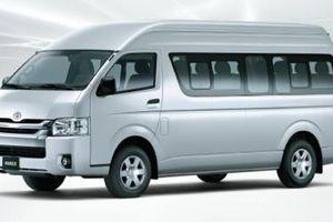 Toyota Hiace trở lại Việt Nam, quyết đấu với Ford Transit