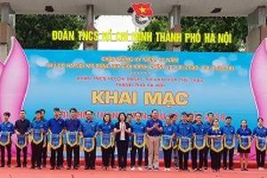 Hơn 1.000 vận động viên tranh tài tại Hội khỏe thanh niên Thủ đô