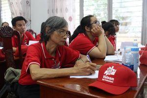 Tập huấn cho Mạng lưới tình nguyện viên Chữ thập đỏ Việt Nam