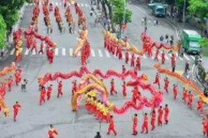 Rực rỡ sắc màu lễ hội 'Tinh hoa Hà Nội - Hội tụ và tỏa sáng'