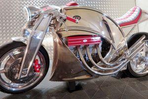 Levis đánh dấu sự hồi sinh với siêu mô tô có giá trên 3 tỷ: Levis V6 Cafe Racer