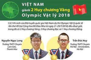 Infographic: Chân dung 5 thí sinh Việt Nam giành huy chương Olympic Vật lý