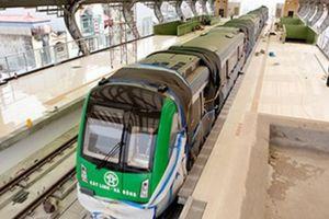 Đóng điện vận hành thử nghiệm tuyến đường sắt Cát Linh – Hà Đông