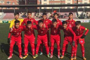 Hủy diệt Đông Timor, U16 Việt Nam tạm thời có được vị trí thứ nhất bảng A