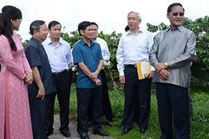 Lào tham quan học hỏi NTM tại Kon Tum
