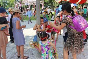 Nhiều hoạt động đặc sắc vui 'Ngày hội tuổi thơ'