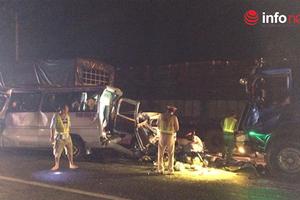 Toàn cảnh vụ tai nạn liên hoàn giữa 4 xe trên quốc lộ 1A, khiến 1 người chết, 4 người bị thương