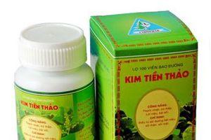 Công ty Dược Lâm Đồng thu hồi lô thuốc Kim tiền thảo không đạt chất lượng