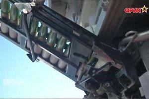 Phát bắn diệt gọn mục tiêu của tàu Gepard Việt Nam