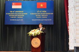Singapore là nhà đầu tư lớn nhất của TP. Hồ Chí Minh