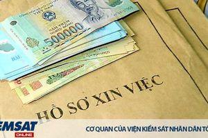 Truy tố 4 đối tượng lừa tiền 'chạy việc' rồi chiếm đoạt 755 triệu đồng