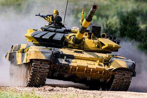 Xe tăng các nước tranh tài tại Nga