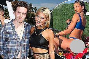 Chia tay vũ công gợi cảm, cậu cả nhà Beckham yêu 'hot girl' bán cần sa