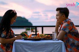 Đại Nghĩa rủ rê Ốc Thanh Vân 'trốn chồng' cùng mình lãng mạn và ngọt ngào bên bãi biển chiều hoàng hôn